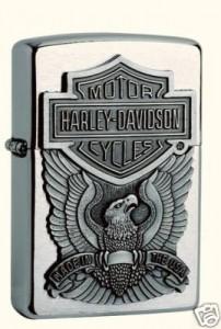 zippo harley davidson 77 eagle