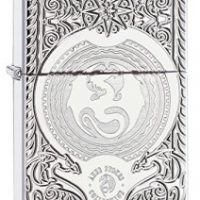 zippo limited edition 207 chrome polished armor anne stokes